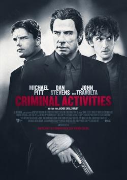 """Das Kino-Plakat von """"Criminal Activities"""" (©Tiberius Film)"""