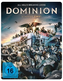 "Das Blu-ray-Cover von ""Dominion Staffel 2"" (© Pandastorm Pictures)"