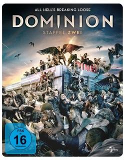 """Das Blu-ray-Cover der zweiten Staffel von """"Dominion"""" (© Pandastorm Pictures)"""
