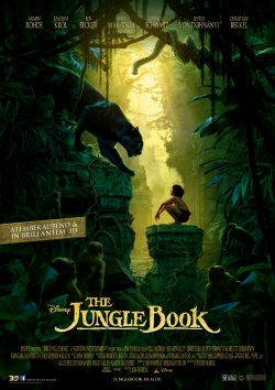"""Das Kino-Plakat von """"The Jungle Book"""" (© Walt Disney)"""
