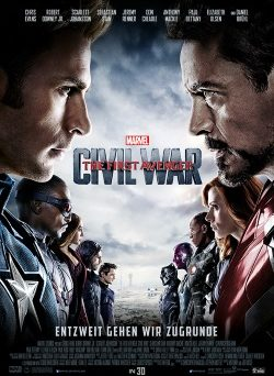 "Das Kino-Plakat von ""The First Avenger: Civil War"" (© Walt Disney)"