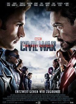 """Das Kino-Plakat von """"The First Avenger: Civil War"""" (© Walt Disney)"""