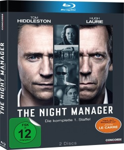 """Das Blu-ray-Cover von """"The Night Manager"""" (© Concorde Home Entertainment)"""