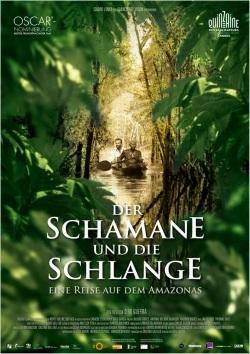 """Das Kino-Plakat von """"Der Schamane und die Schlange"""" (© MFA FILM)"""