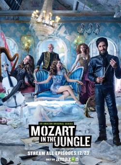 "Das Plakat von ""Mozart in the Jungle"" (© Amazon Video)"