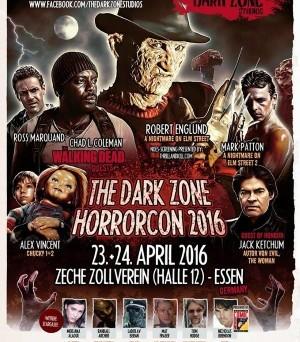 """Das offizielle Plakat zur """"The Dark Zone Horrorcon"""" (© The Dark Zone)"""