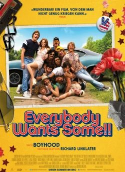 "Das Kino-Plakat von ""Everybody Wants Some!!"" (© Constantin Film)"
