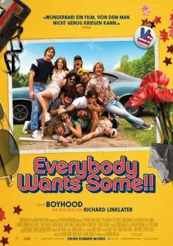 """Das Kino-Plakat von """"Everybody Wants Some!!"""" (© Constantin Film)"""