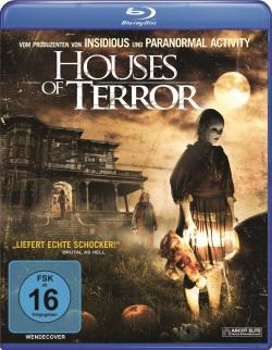 """Das Blu-ray-Cover von """"Houses of Terror"""" (© Ascot Elite)"""