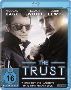 "Das Blu-ray-Cover von ""The Trust"" (© Ascot Elite)"