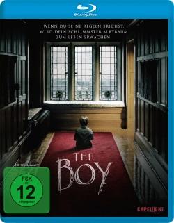 "Das Blu-ray-Cover von ""The Boy"" (© Capelight Pictures)"