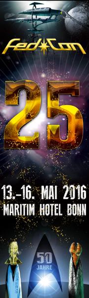Das Banner der FedCon 25 (© FedCon GmbH)