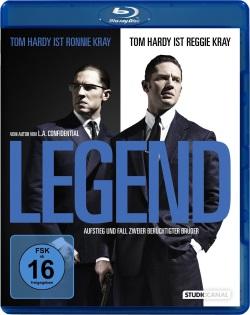 "Das Blu-ray-Cover von ""Legend"" (© StudioCanal)"