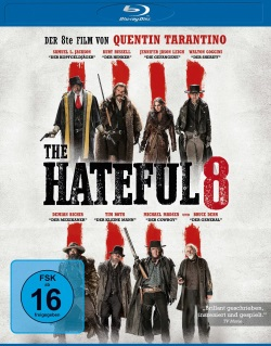 "Das Blu-ray-Cover von ""The Hateful 8"" (© Universum Film)"