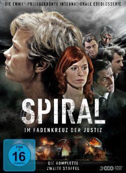 """Das DVD-Cover der zweiten Staffel von """"Spiral"""" (© Polyband)"""