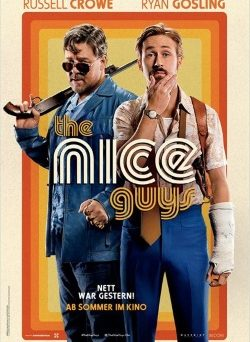 "Das Kino-Plakat von ""The Nice Guys"" (© Concorde Film)"