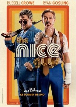 "Das Kino-Plakat von ""The Nice Guys"" (© Concorde Film)"