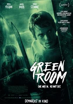 "Das Kino-Plakat von ""Green Room"" (© Universum Film)"