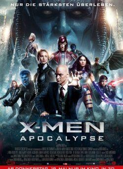 """Das Kino-Plakat von """"X-Men: Apocalypse"""" (© Fox Deutschland)"""