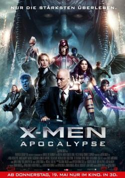 """Das Kino-Plakat von """"X-Men - Apocalypse"""" (© Fox Deutschland)"""