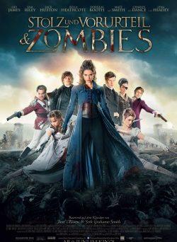 """Das Kino-Plakat von """"Stolz und Vorurteil & Zombies"""" (© Universum Film)"""