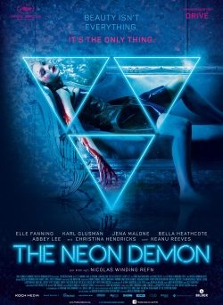 "Das Kino-Plakat von ""The Neon Demon"" (© Koch Media)"