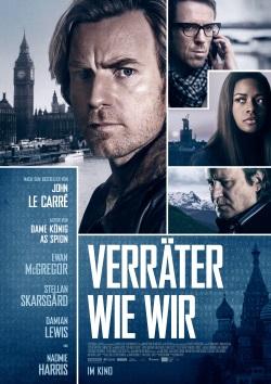 """Das Kino-Plakat von """"Verräter wie wir"""" (© StudioCanal)"""