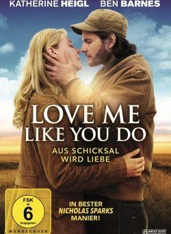 """Das Blu-ray-Cover von """"Love Me Like You Do"""" (© Ascot Elite)"""