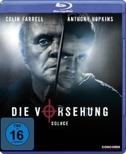 "Das Blu-ray-Cover von ""Die Vorsehung - Solace"" (© Concorde Home Entertainment)"