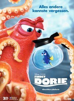 """Das Kino-Plakat von """"Findet Dorie"""" (© Walt Disney Studios Motion Pictures Germany/Pixar)"""
