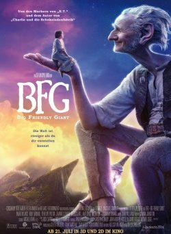 "Das Kino-Plakat von ""BFG - Big Friendly Giant"" (© Constantin Film)"