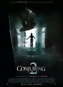 "Das Kino-Plakat von ""The Conjuring 2"" (© Warner Bros Pictures)"