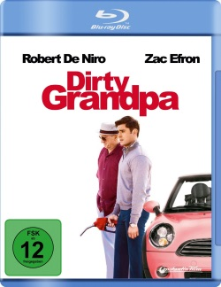 "Das Blu-ray-Cover von ""Dirty Grandpa"" (© Constantin Film)"