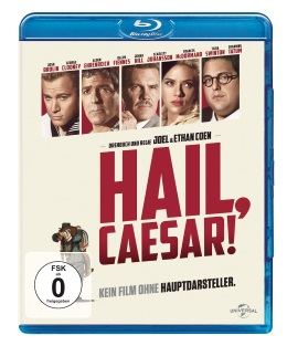"""Das Blu-ray-Cover von """"Hail, Caeasar!"""" (© Universal Pictures Germany)"""
