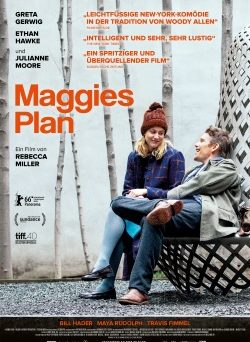 "Das Kino-Plakat von ""Maggies Plan"" (© MFA Film)"