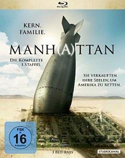 """Die Blu-ray-Box der ersten Staffel """"Manh(a)ttan"""" (© StudioCanal)"""