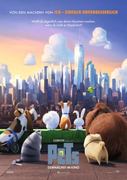 "Das Teaser-Plakat zu ""PETS"" (© Universal Pictures International)"