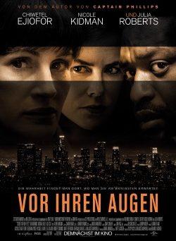 """Das Kino-Plakat von """"Vor ihren Augen"""" (© Universal Pictures Germany)"""