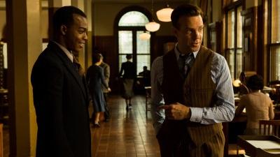 Jesse und Coach Snyder wollen Geschichte schreiben (© Square One/Universum Film)