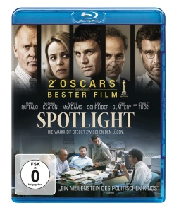 "Das Blu-ray-Cover von ""Spotlight"" (Quelle: Paramount Pictures Home Entertainment)"
