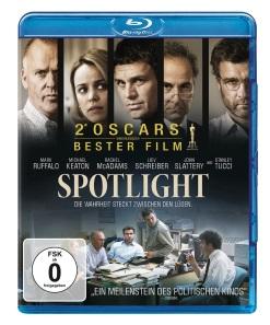 "Das Blu-ray-Cover von ""Spotlight"" (Quelle: Paramount Pictures Home Entertainment)"