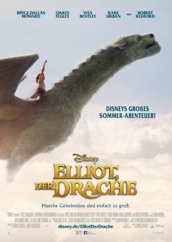 """Das Kino-Plakat von """"Elliot, der Drache"""" (© Disney Motion Pictures)"""