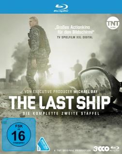 """Das Blu-ray-Cover von der zweiten Staffel """"The Last Ship"""" (© Polyband)"""