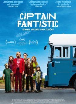 """Das Kino-Plakat von """"Captain Fantastic"""" (© Universum Film)"""