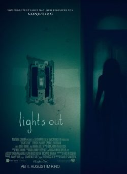 "Das Kino-Plakat von ""Lights Out"" (© Warner Bros Pictures)"