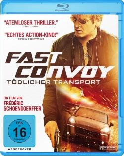 """Das Blu-ray-Cover von """"Fast Convoy"""" (© Ascot Elite)"""