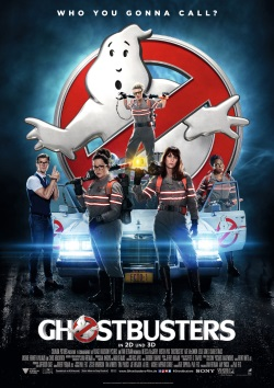 """Das Kino-Plakat von """"Ghostbusters"""" (© Sony Pictures Germany)"""