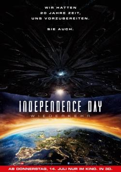 """Das Plakat von """"Independence Day - Wiederkehr"""" (© Fox Deutschland)"""