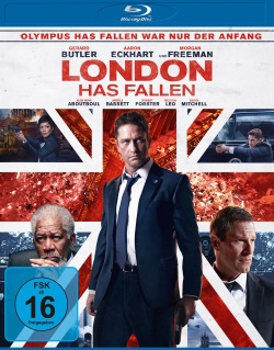 "Das Blu-ray-Cover von ""London has fallen"" (© Universum Film)"