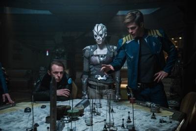 Kirk und sein kleines Team haben ein großes Problem (© Paramount Pictures Germany)